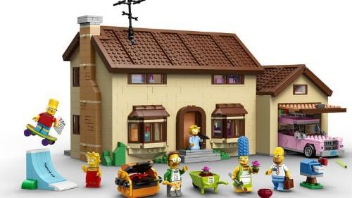 La casa de los Simpson de Lego: un éxito seguro
