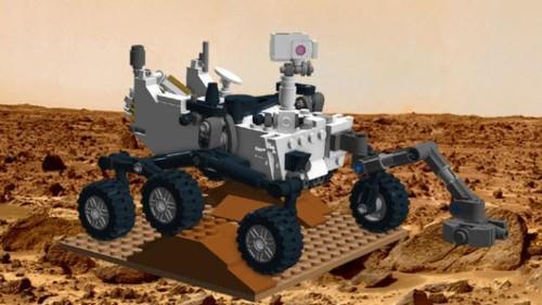 'Curiosity' miniatura de Lego: ideal para Día de Reyes