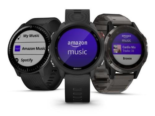 Estos relojes de Garmin ahora se conectan a Amazon Music
