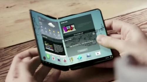 Los celulares plegables de Samsung llegarían en 2017