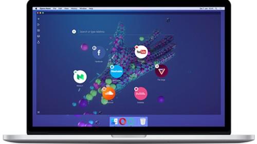 Opera lanza Neon, un buscador que intenta romper el molde
