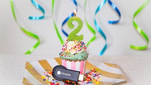 Google te regala una película rentada para marcar el aniversario del Chromecast