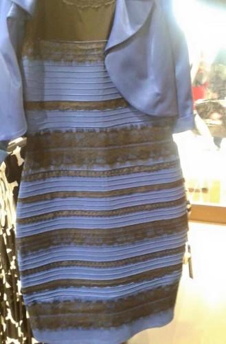 El vestido que dividió a los cibernautas en colores
