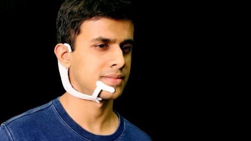 El auricular AlterEgo del MIT puede leer lo que 'dices' en tu cabeza