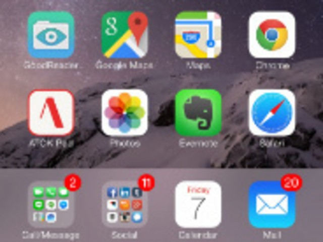 【レビュー】iPhone 5sからiPhone 6 Plusへ(2)--セットアップと導入アプリ