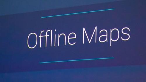 Google Maps ahora puede funcionar sin conexión a Internet