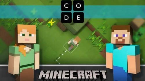 Microsoft y Code.org usarán 'Minecraft' para enseñar programación