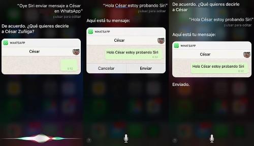 Siri será tu secretaria en WhatsApp: ahora hace llamadas y envía mensajes