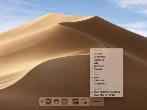 MacOS Mojave: Así se hacen las capturas de pantalla