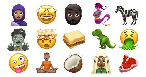 アップル、年内追加の絵文字を公開--恐竜やゾンビ、シマウマも - CNET Japan