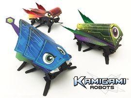 Kamigami: un robot origami que todo mundo puede construir