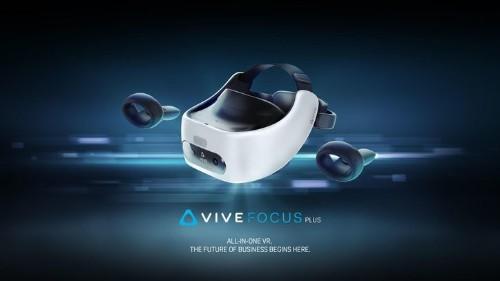 HTC Vive Focus Plus VR llegan para competir con las Oculus Quest
