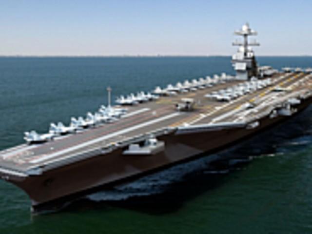 米航空母艦「Gerald R. Ford」--写真で見る最新鋭艦が完成するまで