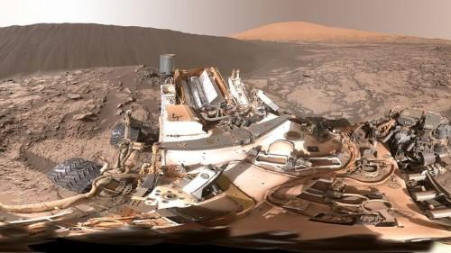 Estas dunas en Marte parecen salidas de un videojuego