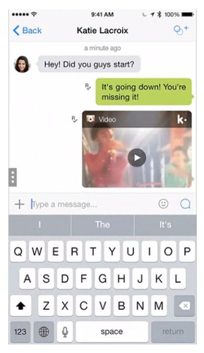 Ya puedes crear videos originales en Kik Messenger