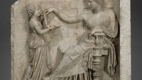 La pregunta del millón: ¿es esta laptop de la antigua Grecia una Mac o una PC?