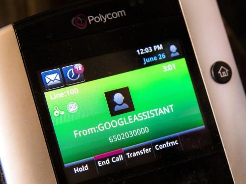 Google Duplex usa personas para hacer una de cada cuatro llamadas
