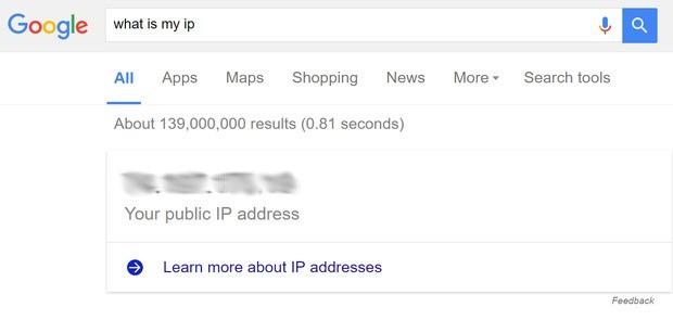Cómo encontrar tu dirección IP utilizando Google, Siri o Cortana