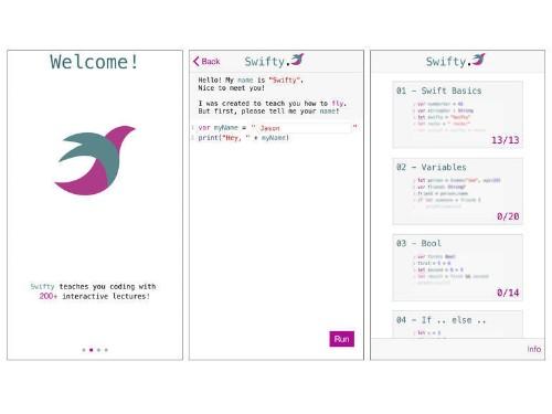 プログラミング言語「Swift」が「iOS」端末で学べるアプリ「Swifty」 - CNET Japan