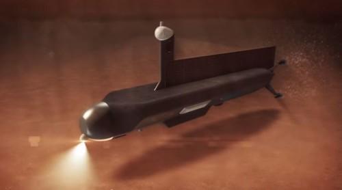 Mira el submarino que NASA enviará a la luna Titán de Saturno