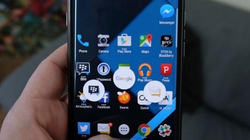 Cómo configurar los atajos del BlackBerry Priv