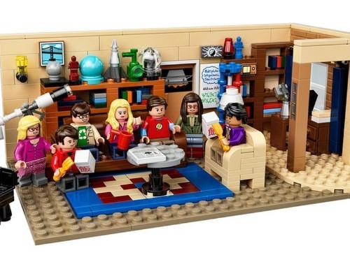 El primer vistazo al set oficial de Lego de 'The Big Bang Theory'