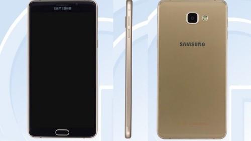 El Galaxy A9 de Samsung posa para la foto