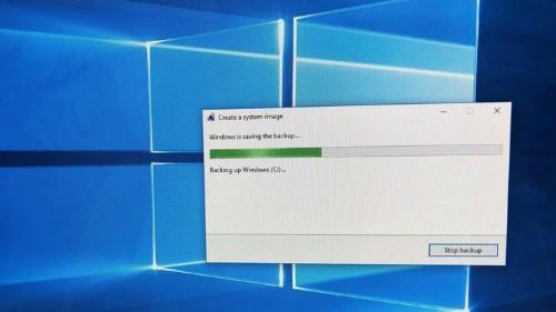 Cómo crear un respaldo completo del sistema en Windows 10