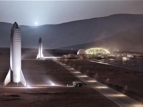 Elon Musk propone reflectores solares –y no bombardeos– para calentar Marte