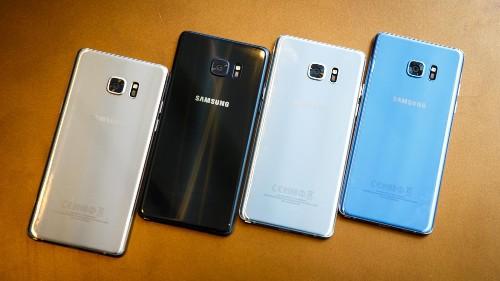 Samsung: El Note 7 sin fallos estará disponible la próxima semana