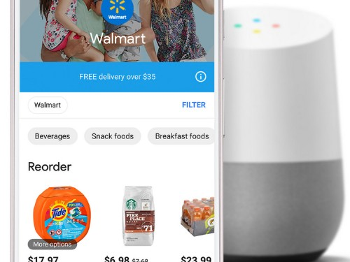Google agrega a Walmart en su servicio de entregas Express