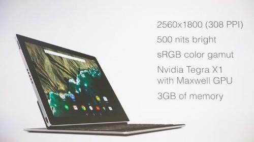 Google presenta la nueva Pixel C, su primera tableta hecha en casa