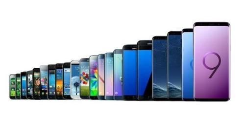 Historia del Samsung Galaxy S9 (2018) desde el primer Galaxy S (2010) - 1a parte