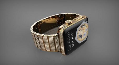 ¿Un Apple Watch de US$70,000? Brikk anuncia 30 nuevos modelos de lujo
