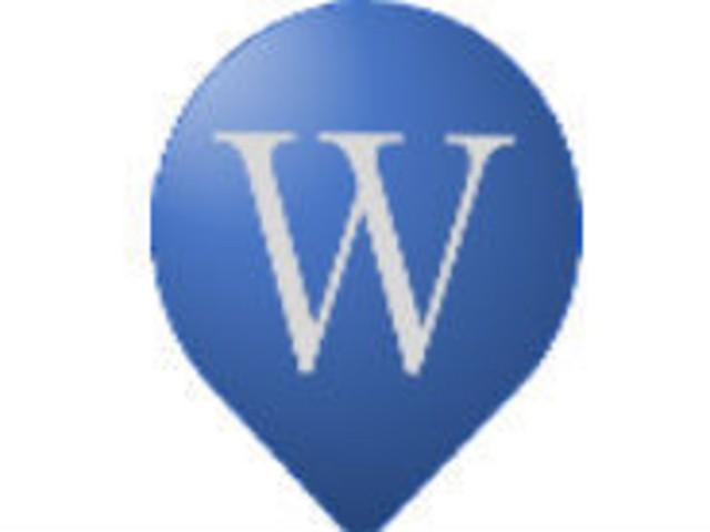 現在位置の周辺にあるWikipedia掲載スポットをまとめて表示できる「ここペディア」
