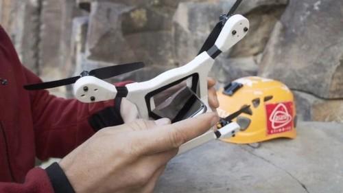 PhoneDrone convierte tu teléfono en un cuadricóptero