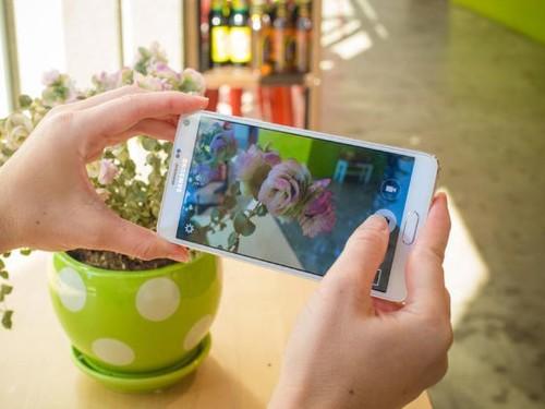 Cómo hacer fotos y video en tu Galaxy Note 4 usando tu voz