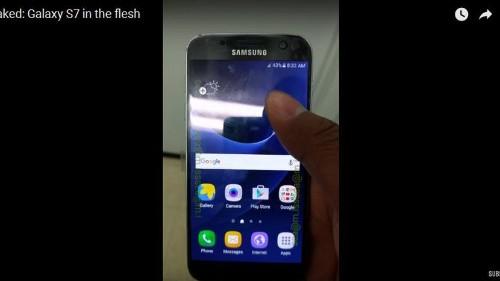 Nueva filtración muestra en video al supuesto Samsung Galaxy S7
