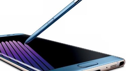 Foto del Galaxy Note 7 muestra sus curvas, puerto USB-C y lápiz óptico