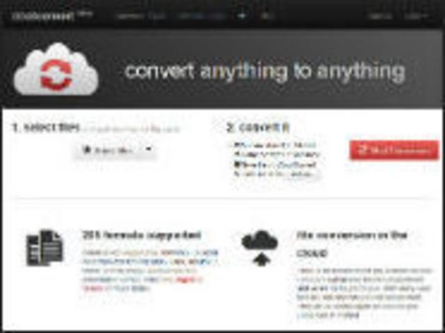 [ウェブサービスレビュー]対応形式は205種類--保存先も選べるファイル変換サービス「CloudConvert」