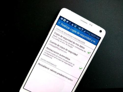 Cómo formatear un celular con Android