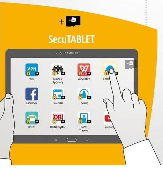 BlackBerry se asocia con Samsung para lanzar tableta segura