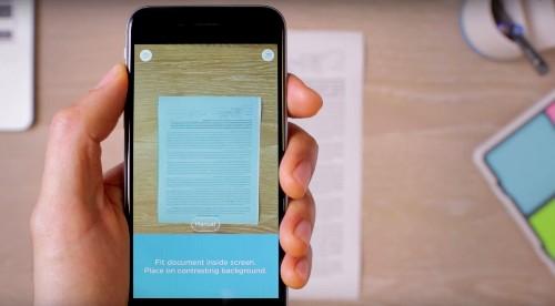 Convierte tu teléfono en un escáner de documentos