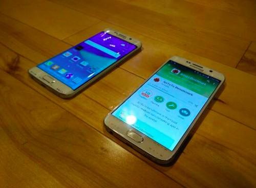 Se filtran imágenes y especificaciones de la pantalla del Galaxy S6