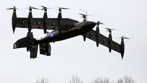 El aerocóptero Grease Lightning de la NASA en acción [video]