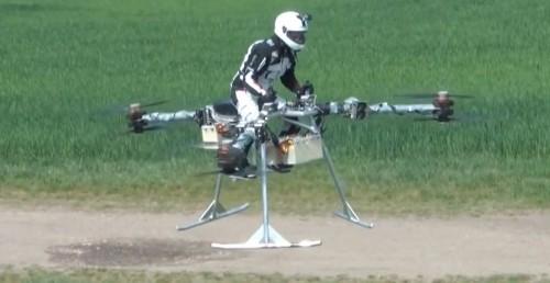 ¿Estamos más cerca de las 'speeder bikes' de 'Star Wars'?