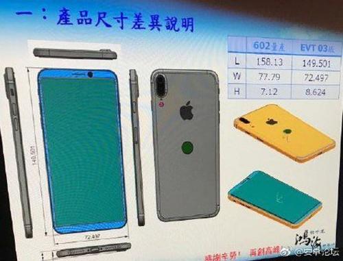 El iPhone 8 sería casi idéntico al Galaxy S8, según esta filtración