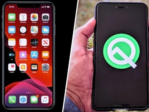 iOS 13 vs. Android 10: ¿Cuál es mejor sistema operativo?