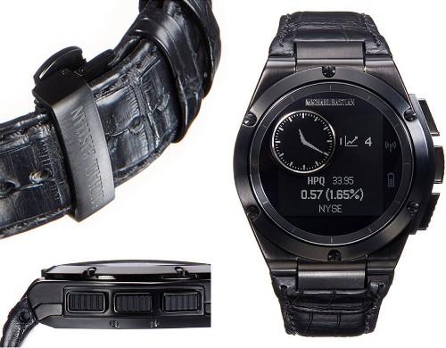 Así es el lujoso 'smartwatch' HP diseñado por Michael Bastian