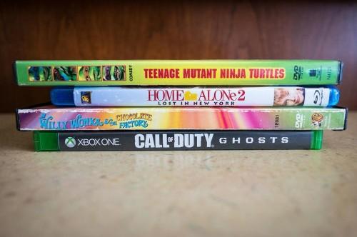Cómo vender tus viejos DVDs y videojuegos